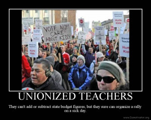 The Wisconsin teachers union is getting a long-overdue lesson in free ...