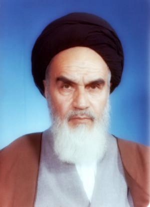 Imam Khomeini quality pic by islamicwallpers