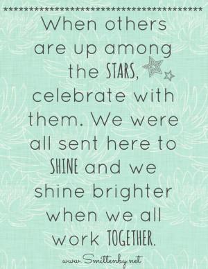 Celebrate Others