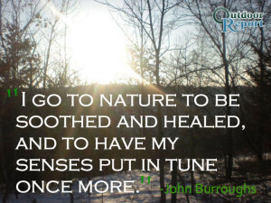 go to nature to be soothed and healed #Quote #Nature #Outdoors # ...