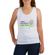 Tennis player quote Women's Tank Top for