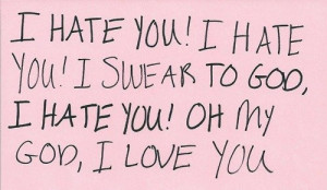 hate you, I love you, Women's Logic