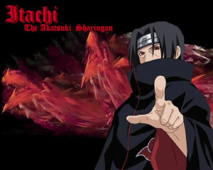 Itachi Uchiha | The Akatsuki Sharingan