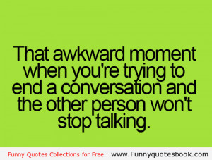When you want to end up an conversation - Funny images online