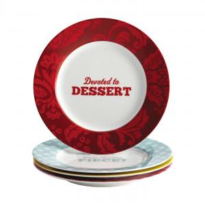 ... > Kitchen & Appliances > Plates > Cake Boss 58693 Patterns & Quotes