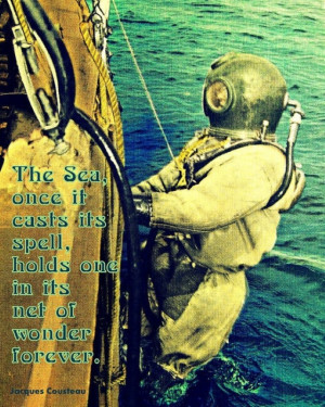 Jacques Cousteau quote 4