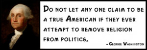 George Washington - Do not let any one claim to be a true American if ...