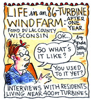 ... news from the hearing at the capitol on the turbine siting reform bill