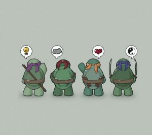 Ninja turtle cute!