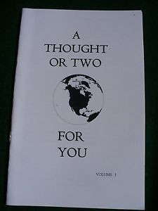 ... or two Eastern Star inspirational quotes one liners OES booklet Vol. I
