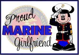 Details about PROUD GIRLFRIEND OF A MARINE US MARINES BUMPER STICKER ...