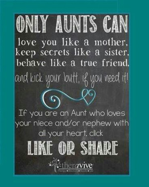 Why I love being an Aunt!