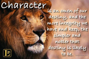 Famous tv character quotes quotesgram - Lion Strength Quotes Quotesgram