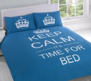 keep calm it s time for bed $ 55 usd this teal reversible printed ...