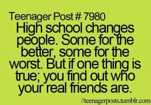 Quotes High school Quote