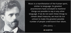 Quotes by Zoltan Kodaly