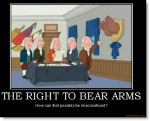 settlers considered the right to arms and/or the right to bear ...