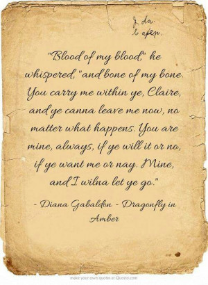 Outlander Series Quotes
