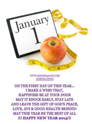 Happy New Year Inspirational Quotes 2014 ~ Happy New Year   Quotes And ...