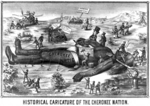 Indian Removal Act Political Cartoon