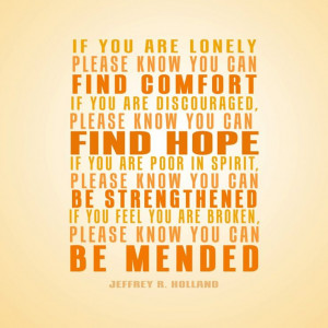 Jeffrey R Holland Quote
