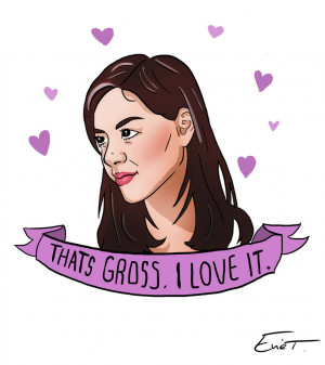 April Ludgate quote by EvieClare
