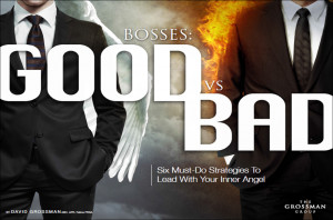 you re a good boss guided by your proverbial inner angel or a bad boss ...
