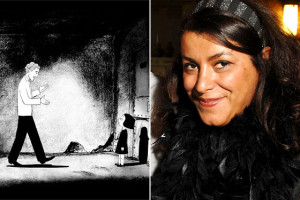 Marjane Satrapi is the author of Persepolis and Persepolis 2.
