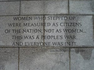World War 2 Memorial Washington DC Quotes