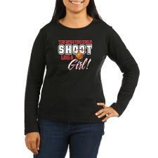 Basketball - Shoot Like a Girl Women's Long Sleeve for