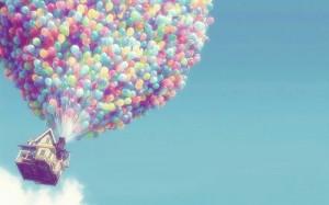 唯美气球图片:追逐童年的回忆