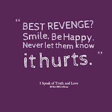 "... ! Smile,Be Happy,Never Let Them Know It Hurts"" ~ Happiness Quote"