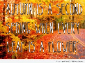 Autumn Quotes and Sayings about Fall Season