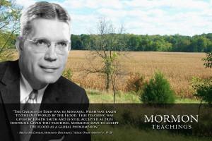 "Bruce McConkie, Mormon Doctrine, ""Adam-Ondi-Ahman"" p. 19-20"