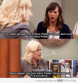 quotes from Parks and Recreation with Ann Perkins talking to Leslie ...