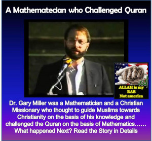 Mathematician who challenged Quran