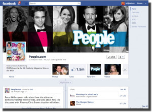 Main Page New Facebook Design