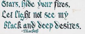 Macbeth quote by xenizondich