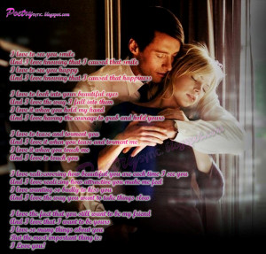 Romantic I Love You Poem with Images