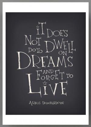 Harry Potter movie quote print by SimpleSerene