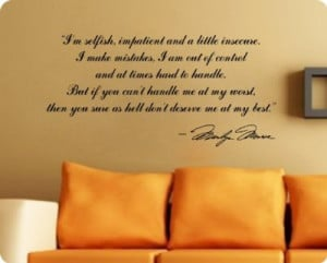 marilyn-monroe-im-selfishdeserve-me-at-my-best-quote-wall-decal-decor ...