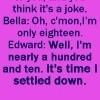 Funny Twilight Quote Icons - twilight-series Icon