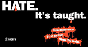 You've got to be taught to hate
