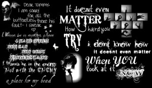 Lyrics Quotes - when-i-look-at-you, doesnt-matter