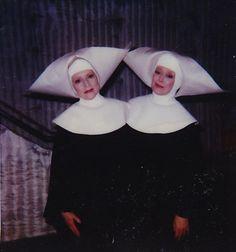 And I'm Sister Blanche. We're … uh, going door to door ...