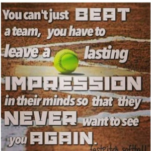 Fastpitch Softball Catcher Quotes And Sayings
