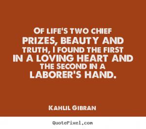 Kahlil Gibran Quotes