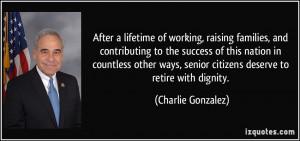 More Charlie Gonzalez Quotes