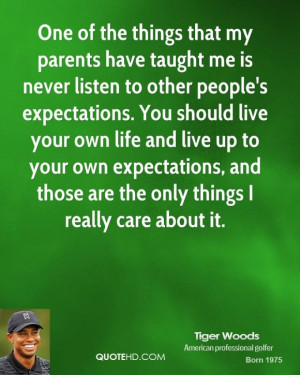 Golf Quotes About Life: Tiger Woods Quote Golf In This Happy Life ...