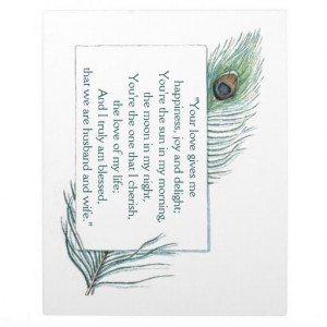 True #Love #Quote Husband Wife #Wedding Plaque #zazzle http://www ...